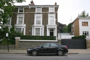 Celebrity Homes:  London