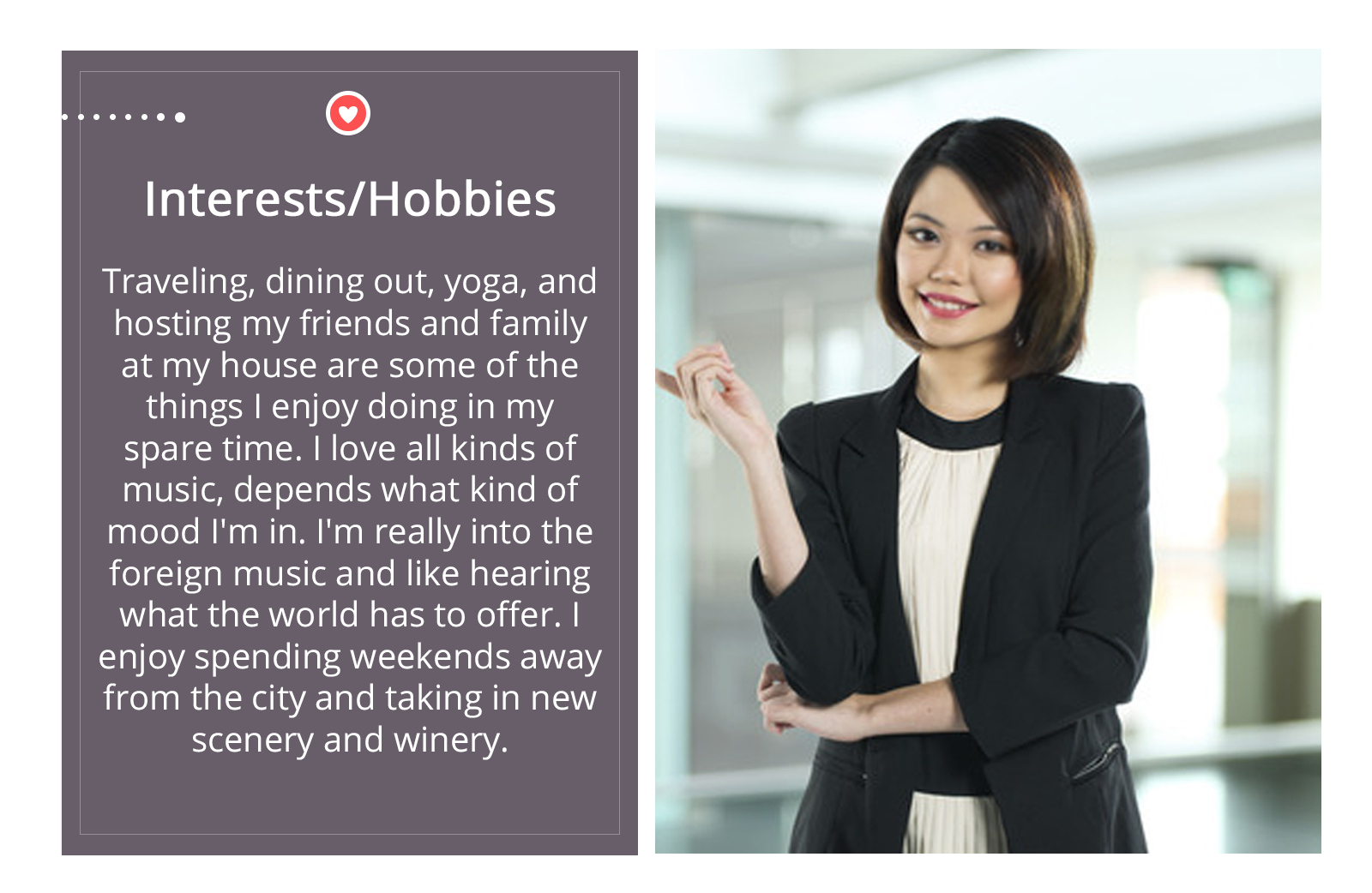 Blog  Select Introductions - LILY-interests.hobbies