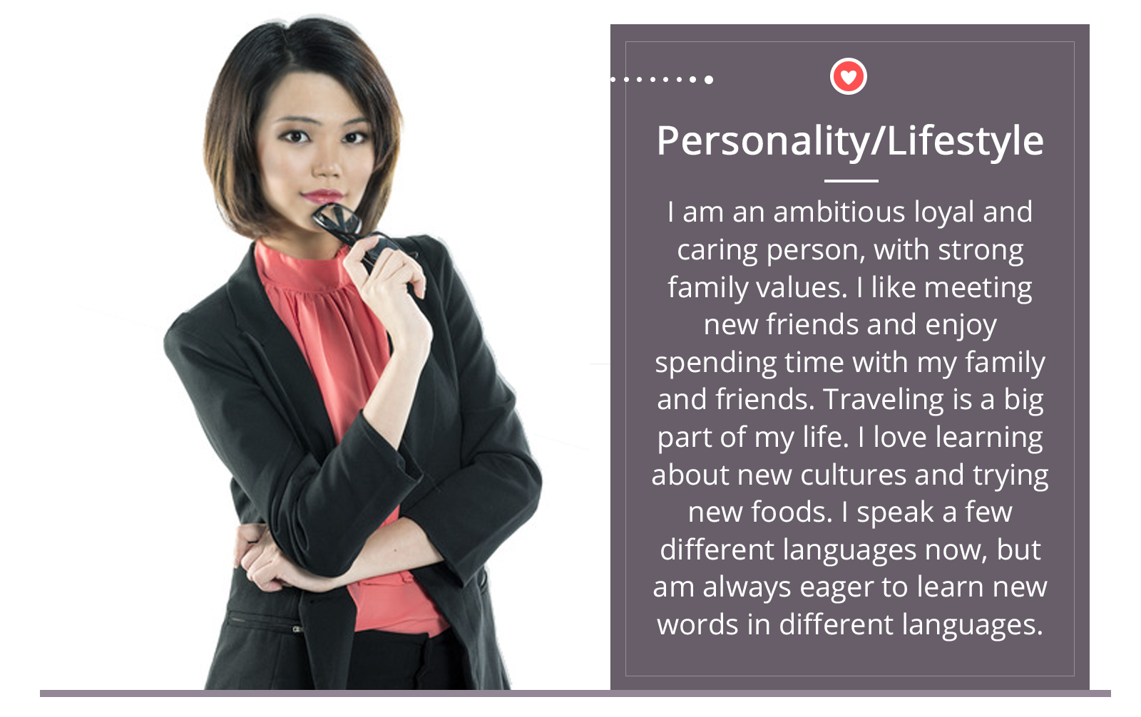 Blog  Select Introductions - LILY-personality.lifestyle2