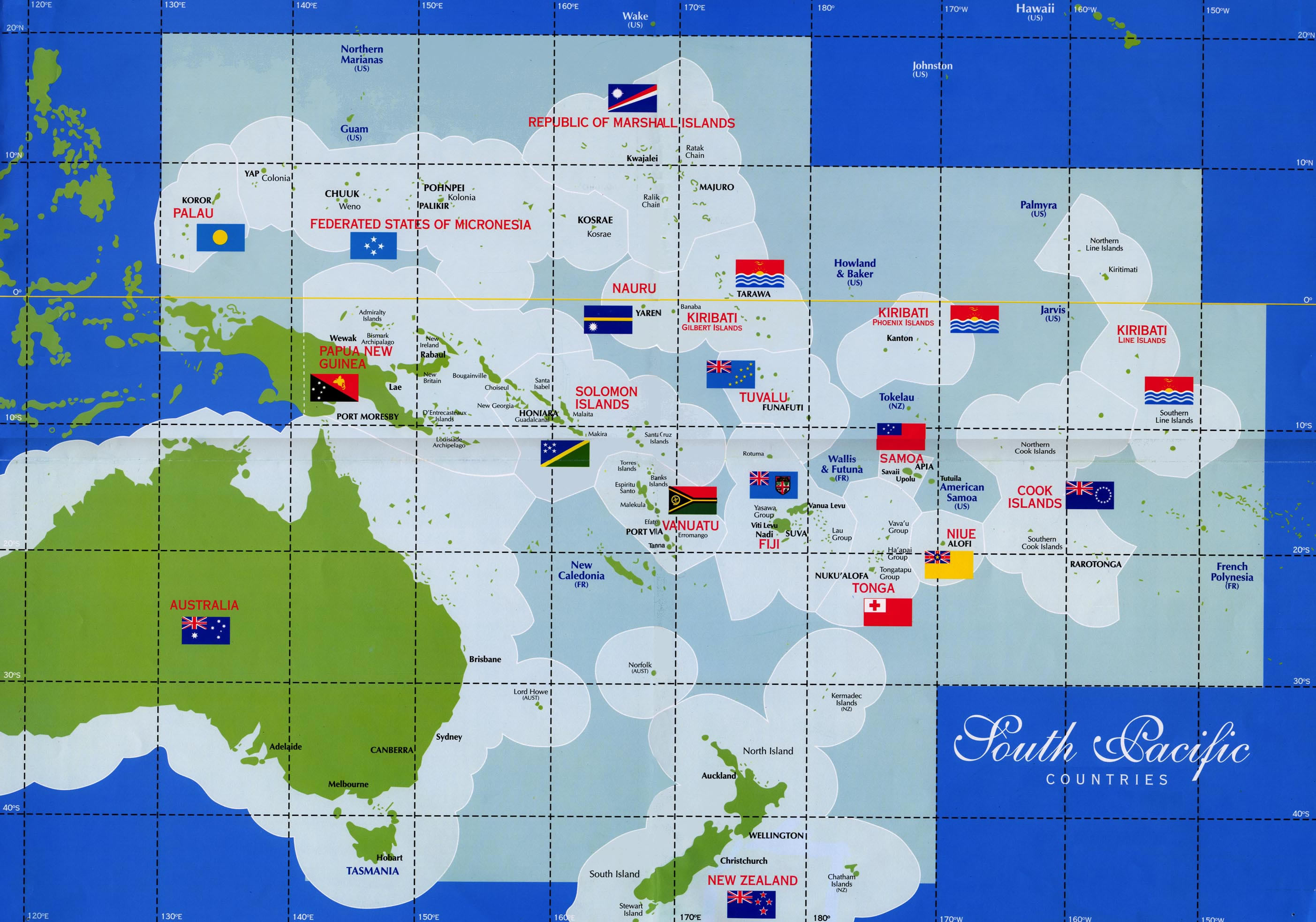 Marriage traditions around the world south pacific select south pacific countries map gumiabroncs Gallery