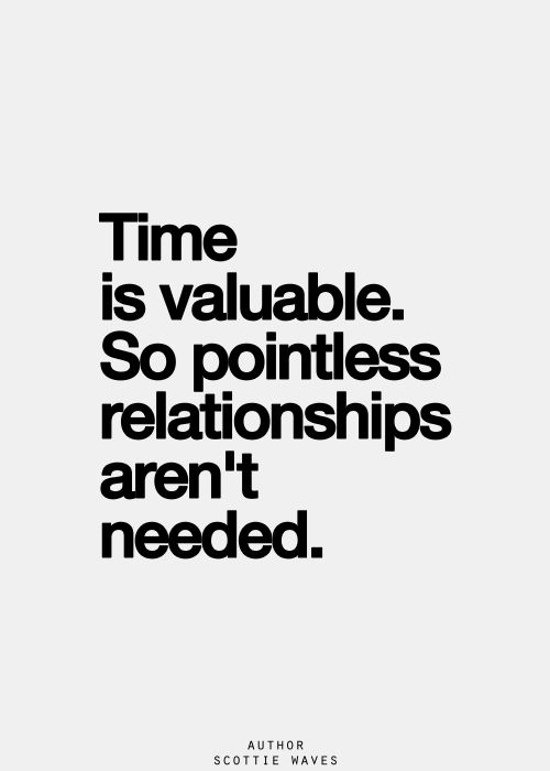 time waster quote